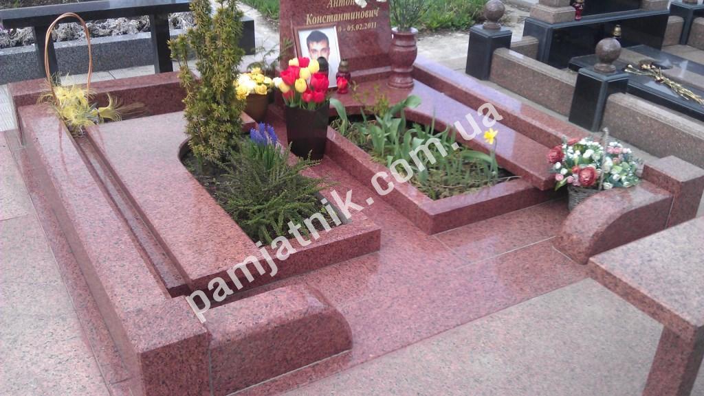 Цветник на кладбище своими руками 450