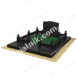 3Д макет двойной могилы