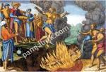 Сати - ритуальное самосожжение вдов в Индии