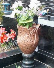 ваза-тюльпан из межерички