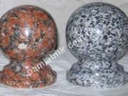 гранитные шары из капустинского и покостовского гранита