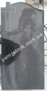 Памятник одинарный с крестом в наличии