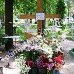 Могила Алипии на Лесном кладбище