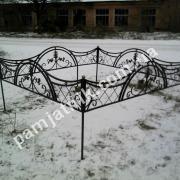 Металлическая ограда №12
