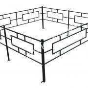 Металлическая ограда №2