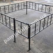 Металлическая ограда №7