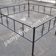 Металлическая ограда №8