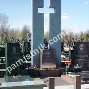 """""""Воздушный"""" гранитный крест 0032"""