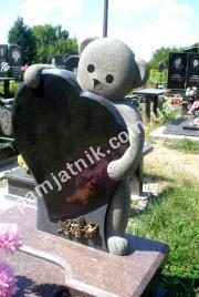 Детский памятник-сердце 0105