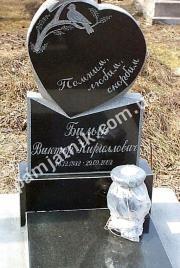 Памятник для младенца 0042 из габбро