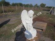 Ритуальная скульптура ангелочек ck-002-2