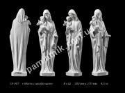 Ритуальная скульптура Божья матерь с младенцем ck-007