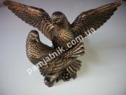 Ритуальная скульптура голуби, бронза ck-011-b5