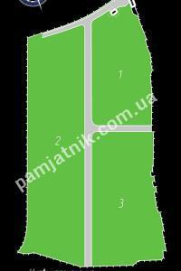 План Братское кладбище