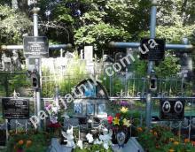 Святошинское кладбище Монахиня Серафима