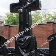 Элитные памятники из гранита - Крест_0111