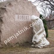 Памятник-глыба на могилу 090