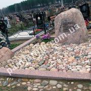 Валун - памятник на могилу 097