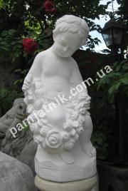 Ангелочек из мрамора 061