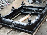 Ритуальная ограда из габбро