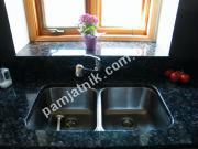 Подоконник и кухонная поверхность из лабрадорита
